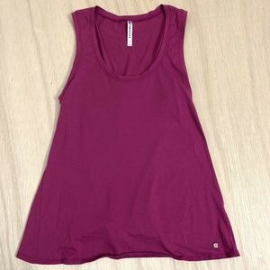 Fabletics Tank Open Back Shirt Top Womens Size Med
